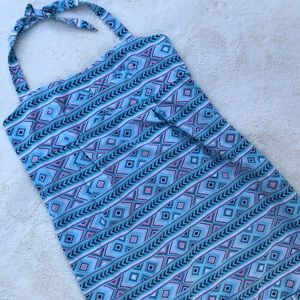 Carve Designs Halter Dress with Pockets sz L